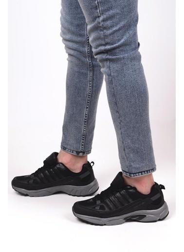 Bestof 055 Erkek Yürüyüş Koşu Spor Ayakkabı Siyah